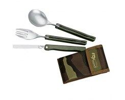 Набор FOX knives ложка,вилка,нож 677F