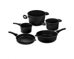 Набор посуды из 5-х предметов AMT AMT 5-1, антипригарное покрытие