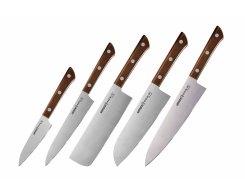 Набор из 5-и ножей Samura Harakiri SHR-0250WO/K