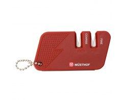 Ручная карманная точилка для ножей Wuesthof 4342 Sharpeners (красная)