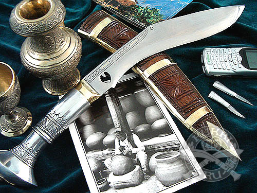 "Кукри нож Nepal Kukri House 10"" Chainpure Special Aluminum"