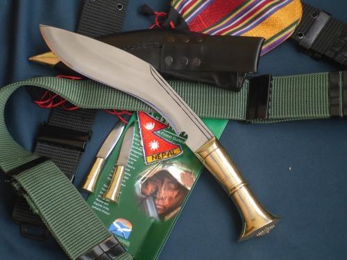 "Кукри нож Nepal Kukri House 10"" Angkhola Brass"