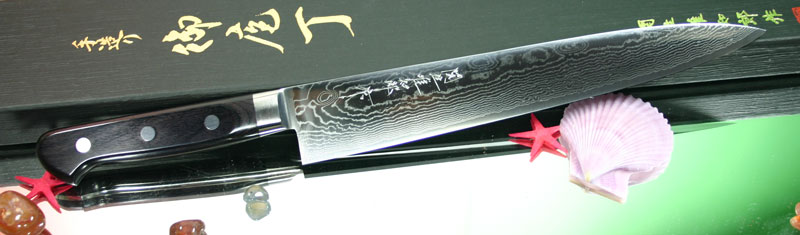Гастрономический шеф нож Hattori HD-12S, 24 см