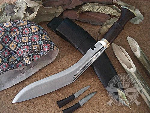 Кукри нож Nepal Kukri House 10'' SiruPate Slim Unpolish