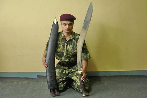 Кукри нож Nepal Kukri House 36'' Buff Head
