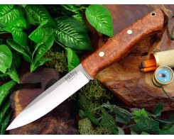 Нож туристический Bark River Aurora Amboynia Burl