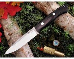 Нож туристический Bark River Aurora Black Canvas Micarta