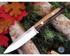 Нож туристический Bark River Aurora Black White Ebony