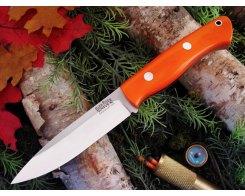 Нож туристический Bark River Aurora Blaze Orange