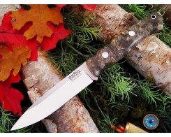 Нож туристический Bark River Aurora California buckeye Burl