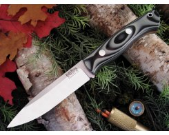 Нож туристический Bark River Aurora Midnight Tiger G-10