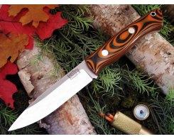Нож туристический Bark River Aurora Tigerstripe G-10