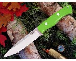 Нож туристический Bark River Aurora Toxic Green G-10