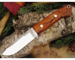 Нож туристический Bark River Drop Point Hunter Desert Ironwood
