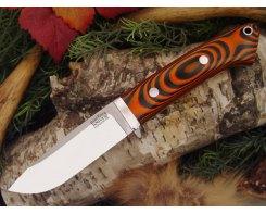Нож туристический Bark River Drop Point Hunter Tigerstripe G-10