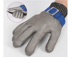 Перчатка Batex NR.650.24 S, металлическая, защитная от порезов