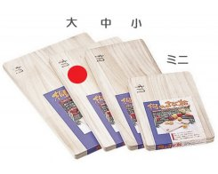 Разделочная доска Fujita Woodworks Paulownia, HK-18, 420х230х20 мм.