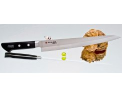 Гастрономический нож для тонкой нарезки Fujiwara FKM-6