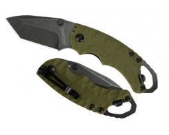 Складной нож Kershaw Shuffle II Tanto 8750TOLBW