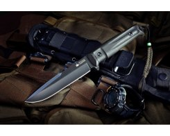 Тактический нож Kizlyar Supreme 000621 Delta, AUS-8 Black Titanium