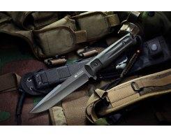 Тактический нож Kizlyar Supreme 000662 Delta D2 Black Titanium