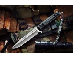 Тактический нож Kizlyar Supreme 00066 Delta, D2 Satin