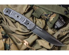 Тактический нож Kizlyar Supreme 002534 Echo AUS-8 Black Titanium.