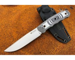Туристический нож Kizlyar Supreme 2219 Echo Bohler K340 Satin SW