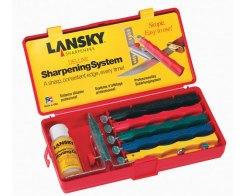 Точильный набор для ножей Lansky LKCLX Deluxe Knife Sharpening System