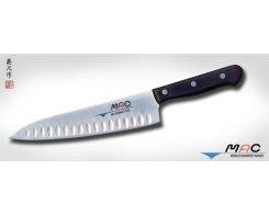 Кухонный поварской нож MAC Chef TH-80, Chef с проточкой 200 мм.