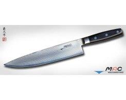 Кухонный поварской нож MAC Damascus DA-BK-240 Chef 240 мм.