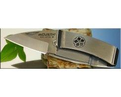 Складной нож-зажим для купюр Mcusta MC-0082 Kikyo