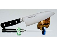 Разделочный нож Misono Molibden Steel Deba 165 мм.