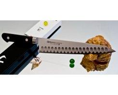Поварской нож Misono Molibden Steel с проточкой Gyuto 240 мм.
