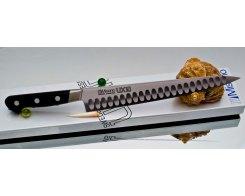Филейный нож Misono UX10 Steel с проточкой Sujihiki 270 мм.