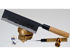 Кухонный нож для шинковки Moritaka A2 Standard Nakiri 13,5 см.