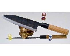 Кухонный нож Сантоку Moritaka A2 Standard Santoku, 17 см.