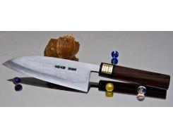 Кухонный нож Moritaka AS Damaskus Deba 165 мм.