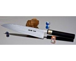 Поварской кухонный нож Moritaka AS Damaskus Gyuto 210 мм.
