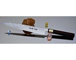 Кухонный нож Moritaka AS Damaskus Yanagiba 330 мм.