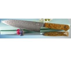 Поварской кухонный нож Mr. Itou (Hiroo Itou) mi-gy13 R2 Gyuto 185 мм