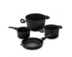 Набор посуды из 4-х предметов AMT, AMT 4-2, антипригарное покрытие