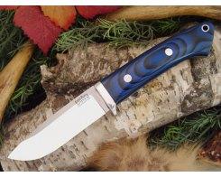 Нож туристический Bark River Drop Point Hunter Blue&Black G-10