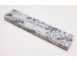 Нож для овощей и фруктов Hiro-Shiki SKE-1P, 8 см.