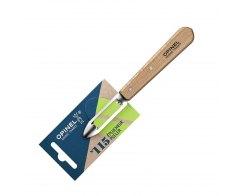 Нож для чистки овощей Opinel №115, нержавеющая сталь, дерево, 100 мм.
