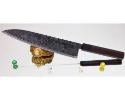 Поварской нож Takeda Hocho AS, Sasanoha 240 мм.