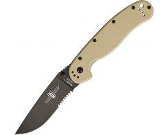 Складной нож Ontario RAT 1 ON8847DT Desert, 88.9 мм.
