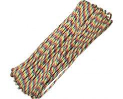 Паракорд 550 светлые полосы Atwood Rope MFG RG018 (30 м.)