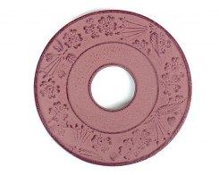 Чугунная подставка под чайник IWACHU 17004, 13,5 см. круг, цвет коричневый