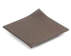 Чугунная подставка под чайник IWACHU 17232, 11х11 см. квадрат, цвет темно-коричневый